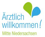 Logo: Ärztlich Willkommen